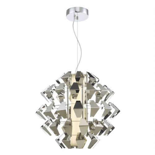 Falcon 1lt Pendant Suspension Chrome 35w LED, Double Insulated BXFAL8650-17